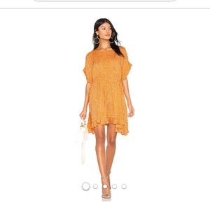 Free People mini dress New without tags. Size S
